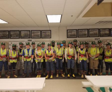 Prairie State Interns Tour Energy Campus