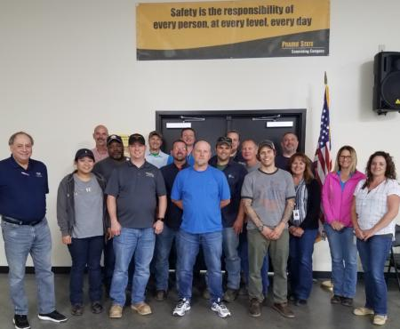 Prairie State Employees Certified in Safety