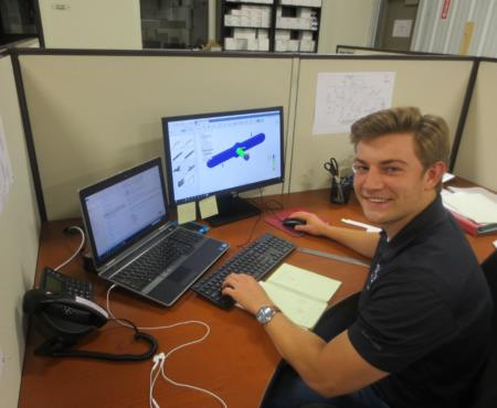 Intern Check-In:  Chris Couch