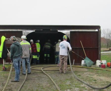 Employee Advanced Firefighting Training