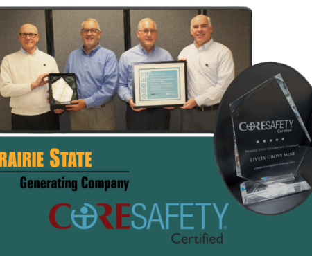 Prairie State's Lively Grove Mine Receives CORESafety® Certification