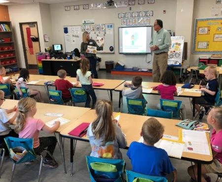 Prairie State Employees Teach Junior Achievement