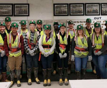 2019 Intern Class Tours Energy Campus