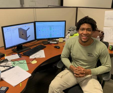 Intern Update: Adonis Barnes