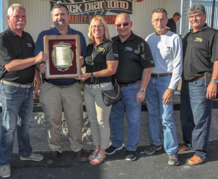 Mine Rescue Team Receives Award