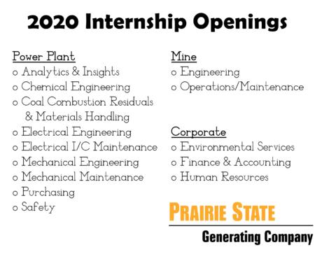 2020 Summer Internship Program